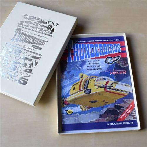 Thunderbirds Personalised Comic Volume 4